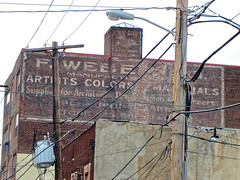 F. Weber & Co., Philadelphia, PA (Robby Virus) Tags: brick philadelphia colors sign wall pennsylvania ghost ad advertisement artists signage weber paints pigments fweber