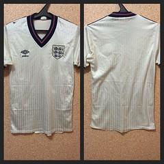 #RARE #ENGLAND NATIONAL TEAM 1984/1985/1986/1987/1988 #HOME #FOOTBALLSHIRT JERSEY #MAGLIA #UMBRO (sharov.ivan) Tags: england home rare maglia umbro footballshirt