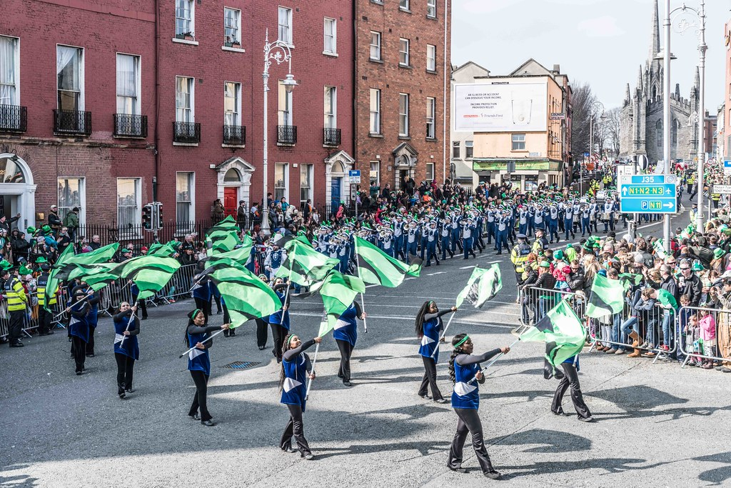 THE OLD DOMINION UNIVERSITY MONARCH MARCHING BAND [ST. PATRICK'S PARADE 2016]-112626