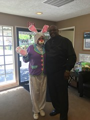 "Neptune Society of Northern California, Marin County - Visit from ""Peter Cottontail"" & Basket Donations for Local Organizations"