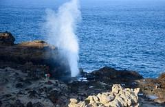 Nakalele Blowhole (y entonces) Tags: hawaii maui nakaleleblowhole