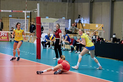 2016-04 - DM Volleyball Damer Brndby - Holte_0318 (JanH.) Tags: championship women tournament national volleyball holte danmark dm brndby turnering canon85mm18 kvinde womensvolleyball kvinder mesterskab sigma50mm14art