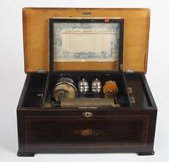Abril - junio de 2016: Fbrica de Charles Ullmann, caja de msica, ca. 1890 (Museo del Romanticismo) Tags: espaa xix siglo romanticismo instrumentosmusicales cajademsica