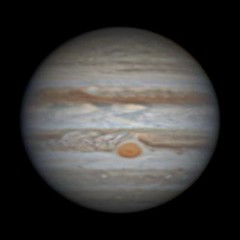 20160324-Olivia (Age 12) Jupiter (Willo2173) Tags: red storm giant mono solar great spot system gas filter astrophotography neb planet planetary seb jupiter universe tis celestron grs c11 baader lrgb oursolarsystem dmk21 azeq6 dmk21618
