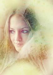 (Frk Martine) Tags: girl photoshop photoshopped layers jente