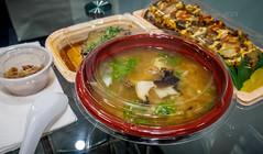 Assorted abalone-based meals (Victor Wong (sfe-co2)) Tags: meals center ala abalone assortment kona moana