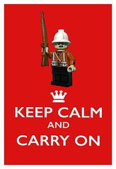 Keep Calm and Carry On! (tim constable) Tags: infantry soldier lego victorian obey announcement empire advice british minifig command calmdown redcoat commandment minifigure footsoldier zuluwar keepcalm rorkesdrift anglozuluwar 24thfoot unitedbricks publicserviceorder