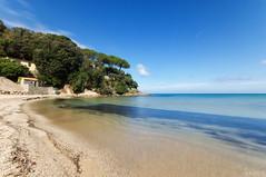 Paradise? No, Elba Island! (chaim87) Tags: ocean sea italy beach water landscape elba paradise mediterranean mediterraneo italia pentax sigma tuscany nd toscana ndfilter isoladelba sigma1020 beachphotography