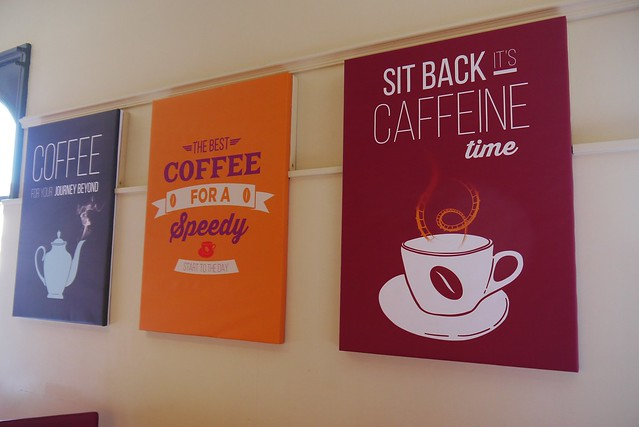 Corner Coffee - Themed Signs