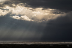 Hole in the sky! (moefadam) Tags: light shadow sky storm abstract game nature clouds landscape licht nationalpark meer hole natur himmel wolken northsea loch landschaft nordsee schatten abstrakt sturm wattenmeer waddensea nationalparkwattenmeer waddenseanationalpark