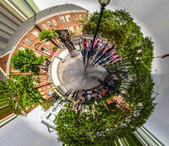 2016.04.25 Vermont Avenue, Washington, DC USA 04403-Edit (tedeytan) Tags: shaw ustreet africanamericancivilwarmemorial vermontavenue tinyplanet littleplanet wherewecamefrom 10thstreetnw exif:make=sony camera:make=sony exif:aperture=71 grimkeschool exif:isospeed=100 greenlinemetro exif:focallength=263mm exif:lens=e18200mmf3563 exif:model=ilce6300 camera:model=ilce6300