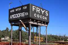 Quorn Water Tower (Malleeroute) Tags: building tower water tank tea south railway australia pichi cocoa southaustralia watertank cr sar frys quorn richi commonwealthrailways southaustralianrailways amgoorie