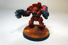 Blood Angels Terminator (Bronzetooth) Tags: blood 40k angels warhammer shield terminator baal terminators deathstorm