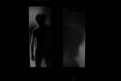 Dark Ghost (darkgh0st) Tags: portrait blackandwhite white selfportrait black self dark noiretblanc ghost dream surreal nightmare misterious