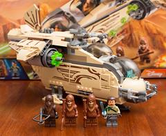 Star Wars Lego: Wookiee Gunship, Set 75084 (Andrew D2010) Tags: starwars lego cannon wookiee rebels gunship kananjarrus wookieegunship wullffwarro set75084