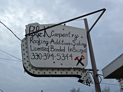 B&K Carpentry, Warren, OH (Robby Virus) Tags: ohio warren siding contractor carpentry additions roofing bk licensed bonded insured