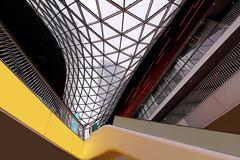 My Zeil (ploh1) Tags: modern design hessen frankfurt fenster shoppingmall shoppingcenter glas neu abstrakt metropole hochhaus wolkenkratzer ffm mainhattan linien einkaufszentrum innenaufnahme grosstadt myzeil