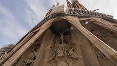 Sagrada Familia (mue.t287) Tags: barcelona gaud sagradafamilia barcelone modernisme jugendstil