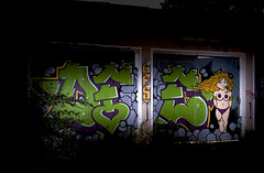 GarageLand: Defoe  BeyondSerial - 021x (Jupiter-JPTR) Tags: sf germany graffiti cologne colonia nightshots ccaa nightvisions gfs defoe jptr garageland hiddenspaces dfoe nightpieces beyondjustice