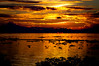 Tonle Sap (matthiasstiefel) Tags: orange lake weather clouds see evening nikon cambodia southeastasia südostasien sonnenuntergang dusk d70s wolken 2008 wetter tonlesap kambodia abendstimmung