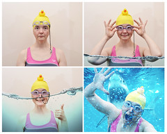 Eautobooth (Apionid) Tags: selfportrait water swimming shark photobooth sequence fauxtobooth werehere day110366 nikond7000 hereios rubberduckdaredevilsquadron 366the2016edition 3662016 19apr16