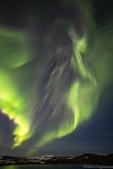 Aurora angel (.Gu) Tags: mountain nature water night iceland nightshot outdoor aurora sland auroraborealis icelandic ntt vatn nordlys kleifarvatn fjll fjall norurljs nturmynd gu ogud olafurragnarsson lafurragnarsson