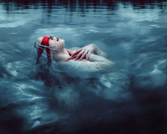 Same Deep Water As You (Kindra Nikole) Tags: water loss crimson del gothic goth peak guillermo depression depressed relationships cure heartbreak toro drowning drown kindra blindfold gasp gothy nikole watery