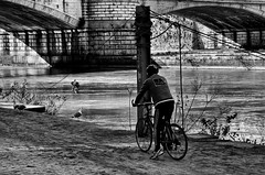 Pista Ciclabile (stefanonikon1) Tags: street roma blackwhite nikon tevere simo afs1755 d7000