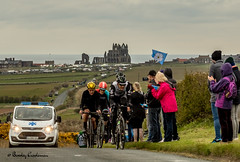 049-Editrz (Bev Cappleman) Tags: abbey bicycle race yorkshire whitby northeast northyorkshire letour cyclerace tourdeyorkshire