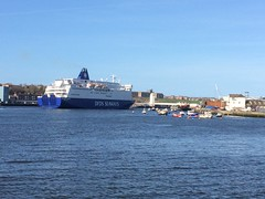 Princess Seaways. (howdontrucks) Tags: dfds northshields princessseaways