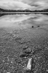 (Mat-S) Tags: longexposure winter blackandwhite mountain lake alps montagne alpes rocks long exposure noiretblanc lac isre expositionlongue filtrepolarisant bigstopper filtrehitech