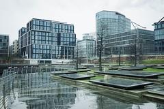 reflections (winne pu) Tags: rain architecture reflections germany hamburg hafencity
