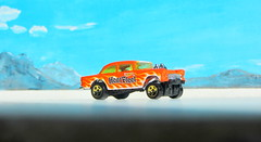 Hot Wheels HW WORKSHOP '55 Chevy Bel Air Gasser 2013 : Diorama Bonneville Salt Flats - 3 Of 13 (Kelvin64) Tags: hot air wheels salt flats chevy workshop 55 bel bonneville diorama gasser hw 2013