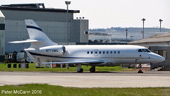 N772MC DA 2000 Glasgow April 2016 (pmccann54) Tags: n772mc falconda2000