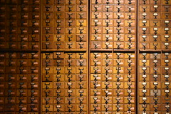 Traditional File System (jacques_teller) Tags: wood museum google belgium belgique traditional archive file collection mons cupboard lafontaine mundaneum classification otlet