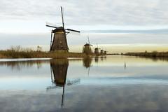 Kinderdijk (R. Engelsman) Tags: holland netherlands nederland unesco historical mills polder kinderdijk molens