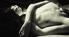 Week 18 - Light and Shadow Play (Reg Photography4Lyfe) Tags: cameraphone boy shirtless blackandwhite bw art week18 photography body torso blackandwhitephotography 2016 phonephotography 52weeks lgg4