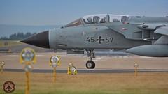 Luftwaffe German Air Force Tornado 45+57 taxing rw 25 (foto-metkemeier.net) Tags: tornado luftwaffe germanairforce nrvenich taktlwg33 fliegerhorstnrvenich