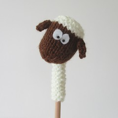 Farmyard Animal Pencil Toppers (Knitting patterns by Amanda Berry) Tags: horse amanda animal animals pencil easter pig cow berry knitting pattern cows sheep head patterns knit donkey fluff knits knitted pens piglet sleeve toppers topper fuzz holder ravelry