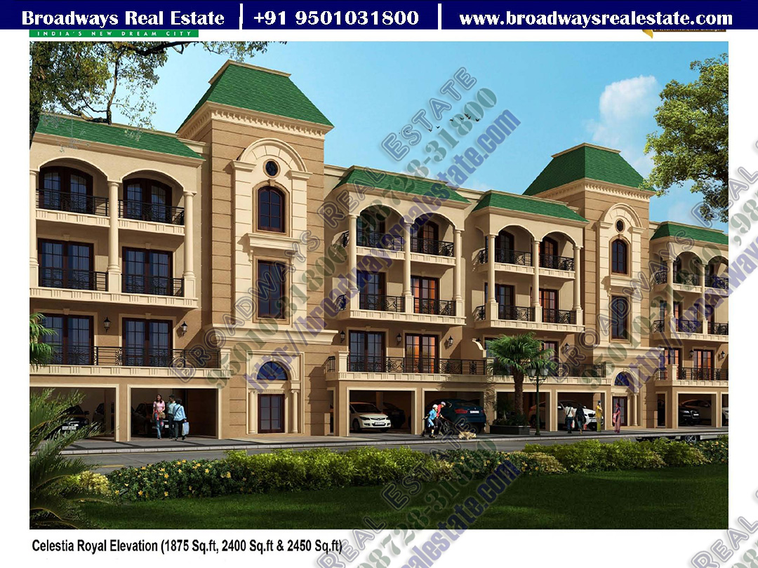 Omaxe Celestia Royal Floors Broadways 9501031800