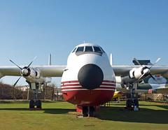 Armstrong Whitworth AW650 Argosy 101 G-APRL Elan Cargo (EI-DTG) Tags: coventry argosy planespotting aircraftspotting preservedaircraft gaprl whistlingwheelbarrow 07mar2011 elancargo
