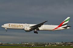 Boeing 777-31HER A6-EBC Emirates (EI-DTG) Tags: emirates boeing dub dublinairport tripler planespotting boeing777 b777 triple7 collinstown aircraftspotting eidw runway28 10jan2016