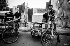 No Ride (Daniel Y. Go) Tags: street bw mono sony philippines pedicab pinas kalye rx100m4 sonyrx100m4