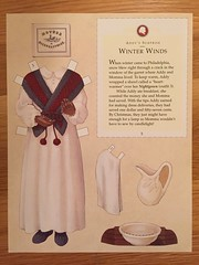 5. Addy Walker: Winter Winds (Foxy Belle) Tags: black girl paper store war doll dolls african character illustrations historic civil walker thrift american historical addy bargain collectable paperdolls