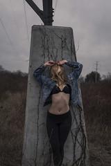 18/52 (KaylaSavage_) Tags: selfportrait girl self model powerlines selfie
