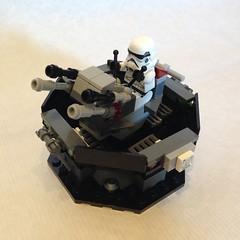 Lego Star Wars Moc: Imperial Antiaircraft Gun (oli.jger) Tags: starwars lego base troops moc