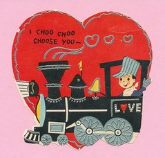 IChooChooChoose_0002 (mjlbb) Tags: train vintage you valentine choo locomotive engineer choose i