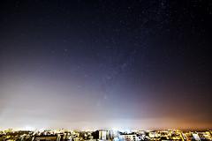 Urban Nightsky (Eduardo Bassotto) Tags: city brazil urban southamerica brasil night stars cityscape nightsky riograndedosul caxias milkyway caxiasdosul serragacha ettr
