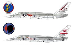 RA-5C Vigilante (Ricos 2015) Tags: airplane military north american vigilante ra5c