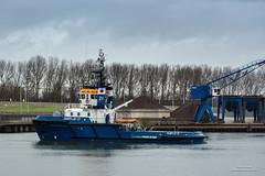 Fairplay 21 (Peet de Rouw) Tags: port rotterdam ship tugboat tug fairplay rozenburg europoort portofrotterdam denachtdienst canon5dmarkiii peetderouw fairplay21
